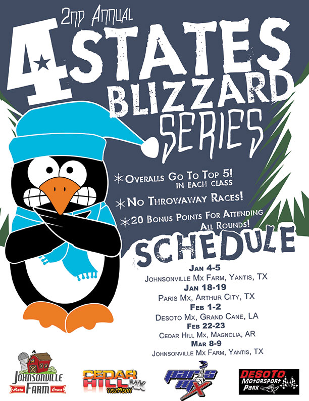 2nd annual blizzard series flyer